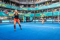 Utrecht, The Netherlands,  September 5, 2021,  Jaarbeurs, Decathlon Copa de Padel,    Steffie Wetering and Marcella Koek (NED)<br /> Photo: Tennisimages/Henk Koster