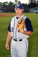 June 26th 2008:  Pitcher Owen Brolsma of the State College Spikes, Class-A affiliate of the Pittsburgh Pirates, during a game at Falcon Park in Auburn, NY.  Photo by:  Mike Janes/Four Seam Images