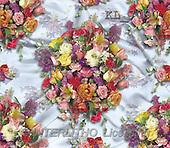 Interlitho, Ron, GIFT WRAPS, paintings, summerflowers(KL7090,#GP#) everyday