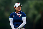 Young Ae Ham of Korea in action during the Hyundai China Ladies Open 2014 on December 12 2014, in Shenzhen, China. Photo by Xaume Olleros / Power Sport Images