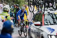 Arnaud Démare (FRA/Groupama-FDJ) up the Col de la Colombière<br /> <br /> Stage 8 from Oyonnax to Le Grand-Bornand (150.8km)<br /> 108th Tour de France 2021 (2.UWT)<br /> <br /> ©kramon