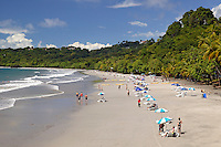 The First Beach and the Pacific Ocean at Manuel Antonio, Costa Rica