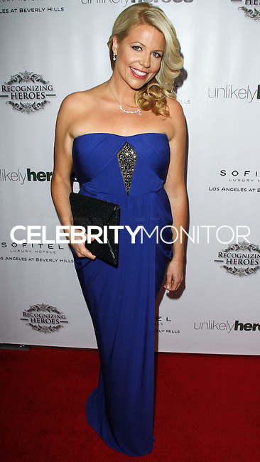 LOS ANGELES, CA, USA - NOVEMBER 08: Erica Greve arrives at the Unlikely Heroes' 3rd Annual Awards Dinner And Gala held at the Sofitel Hotel on November 8, 2014 in Los Angeles, California, United States. (Photo by Celebrity Monitor)