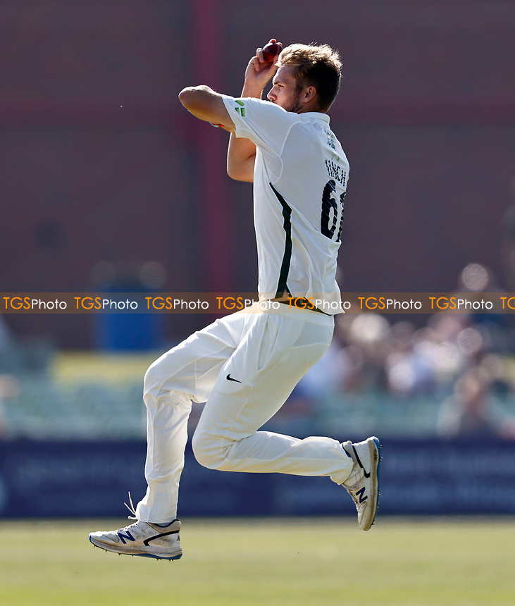 Adam Finch bowls for Worcestershire during Kent CCC vs Worcestershire CCC, LV Insurance County Championship Division 3 Cricket at The Spitfire Ground on 5th September 2021