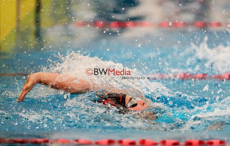Ella Benn, 100m Back para. Swimming New Zealand National Short Course Championships, National Aquatic Centre, New Zealand, Saturday 6th October 2018. Photo: Simon Watts/www.bwmedia.co.nz