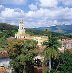 Cuba, Sancti Spiritus, Trinidad: View over city | Kuba, Sancti Spiritus, Trinidad: Blick ueber die Stadt