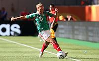 Wolfsburg , 270611 , FIFA / Frauen Weltmeisterschaft 2011 / Womens Worldcup 2011 , Gruppe B  ,  ..England - Mexico ..Dinora Garza (Mexico) ..Foto:Karina Hessland ..