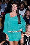 01.09.2012. Celebrities attending the AA de Amaya Arzuaga fashion show during the Mercedes-Benz Fashion Week Madrid Spring/Summer 2013 at Ifema. In the image Sonia Ferrer (Alterphotos/Marta Gonzalez)