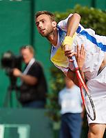 13-07-13, Netherlands, Scheveningen,  Mets, Tennis, Sport1 Open, day six, Thomas Schoorel (NED)<br /> <br /> <br /> Photo: Henk Koster