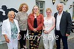 Sarah Barry from Tralee who was conferred in Veterinary Medicine from UCD, celebrating with her family in the Oyster Tavern on Tuesday evening. L to r: Mary, Helen, Sarah, Elena and Edward Barry