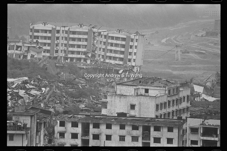 A general view of the Beichuan Earthquake Memorial Park in Beichuan, April, 2011. An 8.0 magnitude earthquake struck China's Sichuan province on May 12, 2008, leaving nearly 90,000 people dead or missing and five million homeless.