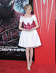 Emma Stone attends  COLUMBIA PICTURES' THE AMAZING SPIDER-MAN Premiere held at Regency Village Theater in Westwood, California on June 28,2012                                                                               © 2012 Hollywood Press Agency
