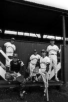 Pix:Michael Steele/SWpix...Baseball, Richmond, London. 1989...COPYRIGHT PICTURE>>SIMON WILKINSON..Baseball, Richmond, London. 1989.