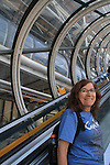 Visiting the Pompidou Center, Paris, France, Europe.