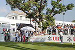 Panuphol Pittayarat of Thailand tees off the first hole during the 58th UBS Hong Kong Golf Open as part of the European Tour on 11 December 2016, at the Hong Kong Golf Club, Fanling, Hong Kong, China. Photo by Vivek Prakash / Power Sport Images