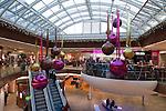 Austria, Tyrol, Kufstein: emptiness at Shopping Mall Kufstein Galleries despite pre-Christmas period