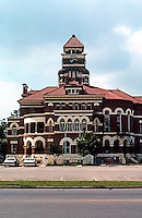 Gonzales:  County Court House, Otto P. Kroeger, Builder. 1896.