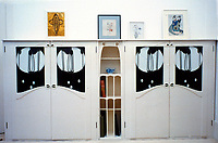 The Mackintosh Collection: Hunterian Art Gallery, U. of Glasgow. Bookcase 1900.