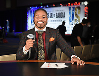 DALLAS, TX - DECEMBER 4: Shawn Porter at the weigh-in for the Errol Spence Jr. vs Danny Garcia December 5, 2020 Fox Sports PBC Pay-Per-View fight night at AT&T Stadium in Arlington, Texas. (Photo by Frank Micelotta/Fox Sports)