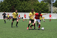 Kent FA Under 18 Boys Cup Final. Bexley (Yellow) V St Peter (Red)