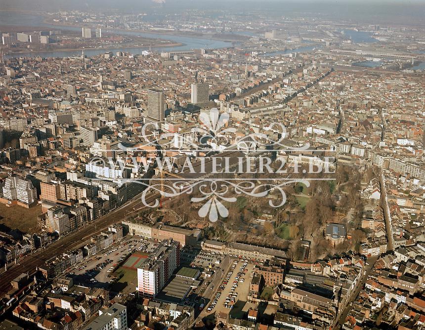 Januari 1987. Centraal Station Antwerpen.