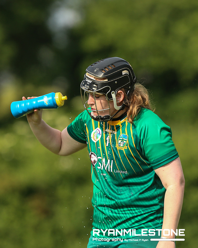 Meath's Emily Mangan during the Liberty Insurance All Ireland Senior Camogie Championship Round 1 between Tipperary and Meath at the Ragg, Co Tipperary. Photo By Michael P Ryan.