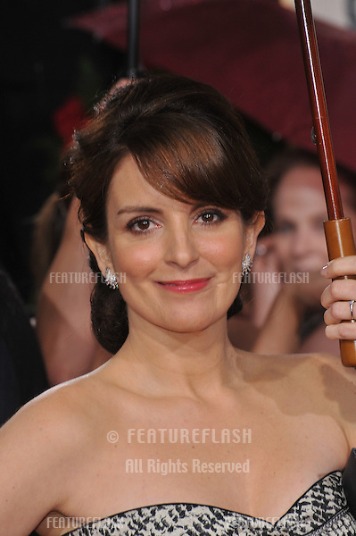Tina Fey at the 67th Golden Globe Awards at the Beverly Hilton Hotel..January 17, 2010  Beverly Hills, CA.Picture: Paul Smith / Featureflash