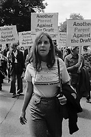Another parent against the draft at anti draft registration rally in Boston MA October 4, 1980