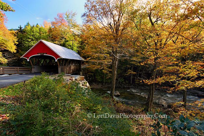 Flume Covered Bridge, NH
