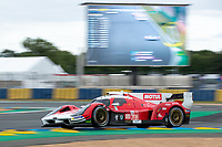#708 Glickenhaus Racing Glickenhaus 007 LMH Hypercar, Luis Felipe Derani, Franck Mailleux, Olivier Pla, 24 Hours of Le Mans , Qualifying Practice , Circuit des 24 Heures, Le Mans, Pays da Loire, France