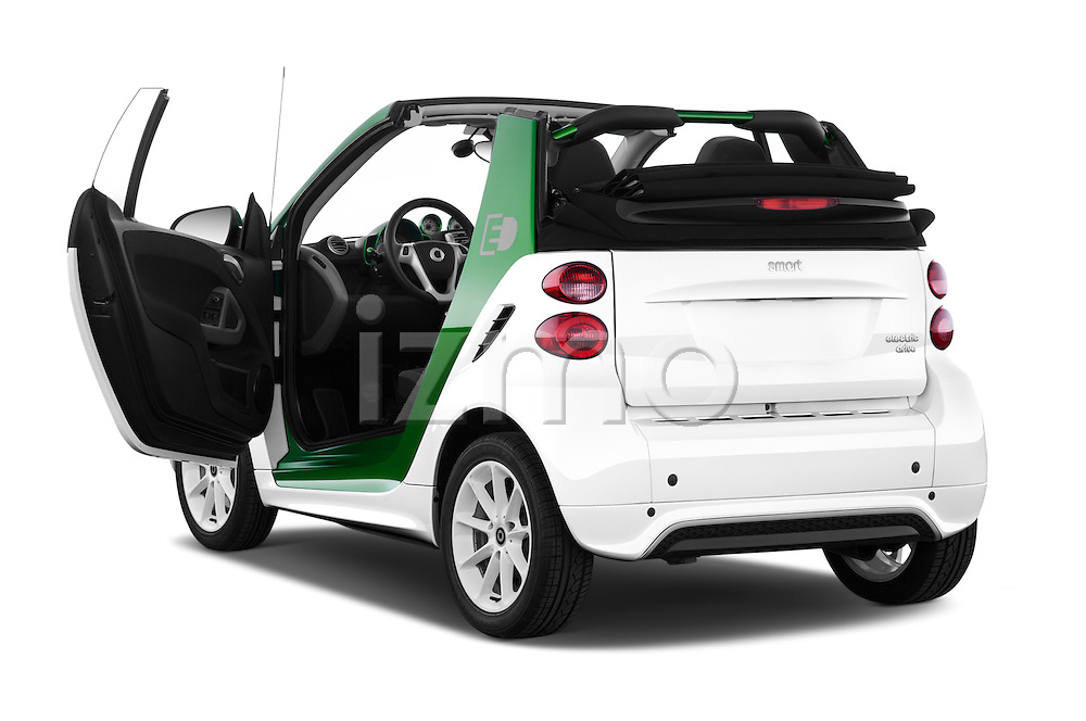 Car images of a 2013 Smart FOR TWO Electric Drive 2 Door Convertible Doors