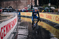 Philippe Gilbert (BEL/Quick Step floors) to the start<br /> <br /> 109th Milano-Sanremo 2018<br /> Milano > Sanremo (291km)