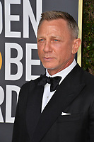 LOS ANGELES, USA. January 06, 2020: Daniel Craig arriving at the 2020 Golden Globe Awards at the Beverly Hilton Hotel.<br /> Picture: Paul Smith/Featureflash