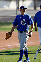 Matt Camp - Chicago Cubs - 2009 spring training.Photo by:  Bill Mitchell/Four Seam Images