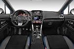 Stock photo of straight dashboard view of 2017 Subaru WRX STI - 4 Door Sedan Dashboard