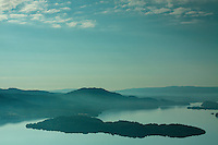 Loch Lomond, Conic Hill and Inchcallioch from Mid Hill, Loch Lomond and the Trossachs National Park, Argyll & Bute<br /> <br /> Copyright www.scottishhorizons.co.uk/Keith Fergus 2011 All Rights Reserved