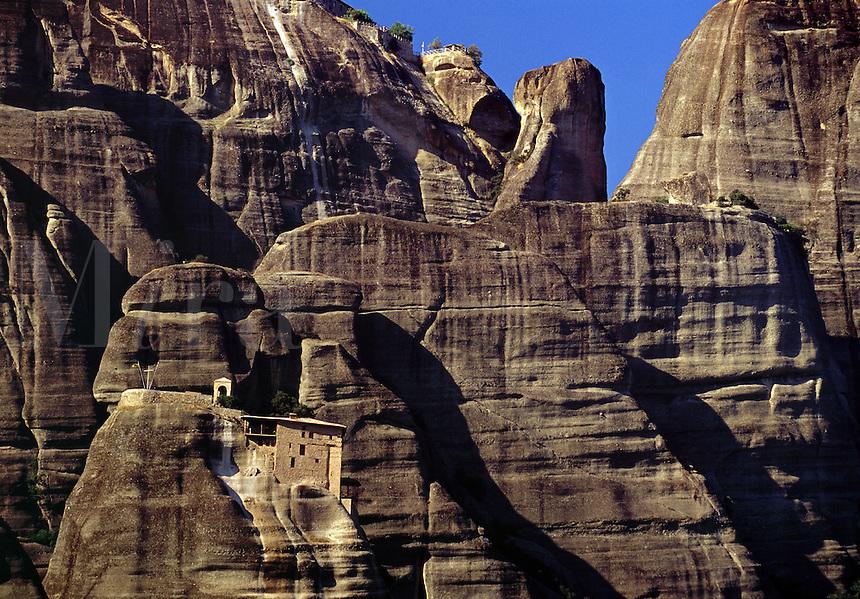 Mountain Monastery Meteora Greece