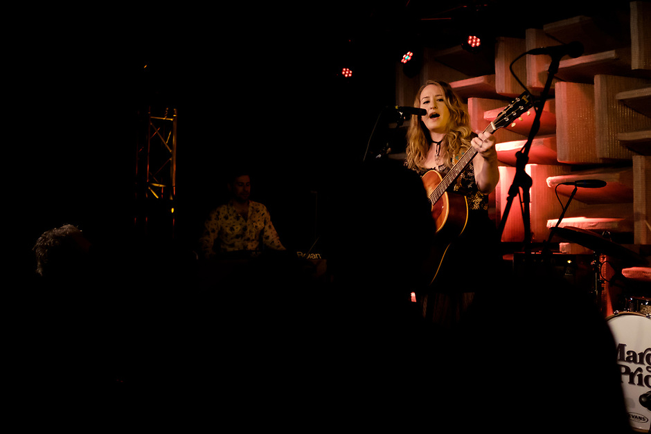 Margo Price performs on Wednesday, April 5, 2017, at The HI-FI in Indianapolis, Indiana. (Photo by James Brosher)