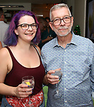 Holli Campbell and Sam Rudy during the Retirement Celebration for Sam Rudy at Rosie's Theater Kids on July 17, 2019 in New York City.