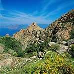 France, Corsica, near Porto: Les Calanches | Frankreich, Korsika, bei Porto: Les Calanches