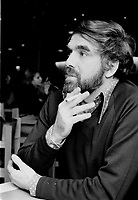 ARCHIVE -<br /> L'ecrivain Claude Jasmin,<br /> 27 Novembre 1973<br /> <br /> Photo : Agence Quebec Presse  - Alain Renaud