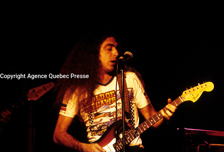FILE PHOTO  -  Gerry Boulet, Offenbach<br /> <br /> <br />  Photo : Agence Quebec Presse