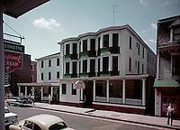 Lyric Hotel - Exterior and street - 1960