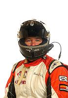 Mar. 18, 2011; Chandler, AZ, USA;  LOORRS driver Bobby PeCoy poses for a portrait at Firebird International Raceway. Mandatory Credit: Mark J. Rebilas