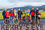 FUNDRAISER LAUNCH: Kenmare GAA Coiste na nÓg in association with Kenmare Cycling Club launching their fundraising cycle, which will be held on Sunday, April 29 at 10am. Pictured here are l-r: Johnny Allen, Jamie Regan, Stephen O'Brien (Kerry footballer), Ger O'Sullivan Morgan (Kenmare Cycling), Sean O'Shea (Chairman), Sheila McCarthy (Sec, Bord na nÓg), Nigel Sheehan (Kenmare Cycling), Sean O'Shea (Kerry footballer), Sean O'Regan (Chairman, Bord na nÓg) and Owen McCarthy.