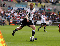 ATTENTION SPORTS PICTURE DESK<br /> Pictured: Alan Tate of Swansea<br /> Re: Coca Cola Championship Swansea City Football Club v Watford at the Liberty Stadium, Swansea, south Wales. Saturday 29 August 2009<br /> Picture by D Legakis Photography / Athena Picture Agency, 24 Belgrave Court, Swansea, SA1 4PY, 07815441513