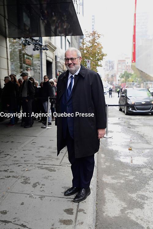Hommage a Lise Payette, le 20 Octobre 2018 au cinema Imperial,  suite a son deces<br /> <br /> PHOTO : Agence Quebec Presse