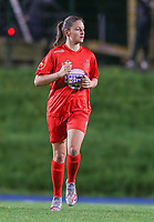 Woluwe's Kenza Vrithof (9) pictured during a female soccer game between FC Femina WS Woluwe and Standard Femina de Liege on the fourth match day of the 2020 - 2021 season of Belgian Womens Super League , Friday 8th of October 2020  in Liege , Belgium . PHOTO SPORTPIX.BE | SPP | SEVIL OKTEM