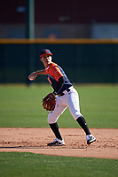 Josh Garcia during the Under Armour All-America Tournament powered by Baseball Factory on January 18, 2020 at Sloan Park in Mesa, Arizona.  (Zachary Lucy/Four Seam Images)