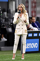 Tv presenter Diletta Leotta during the Serie A football match between FC Internazionale and ACF Fiorentina at stadio San Siro in Milano (Italy), September 26th, 2020. Photo Andrea Staccioli / Insidefoto